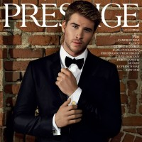 Australian actor Liam Hemsworth suits up on the cover of Prestige magazine.