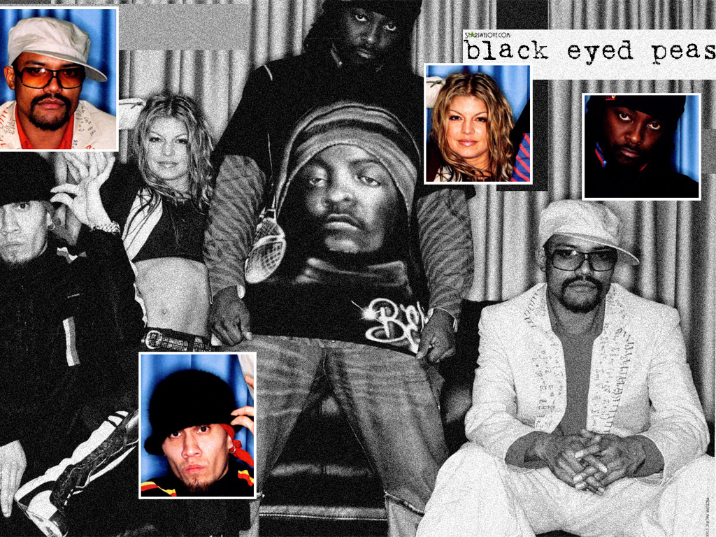 Black Eyed Peas wallpaper (wphm115, 1024 x 768 pixels, 479 kB)