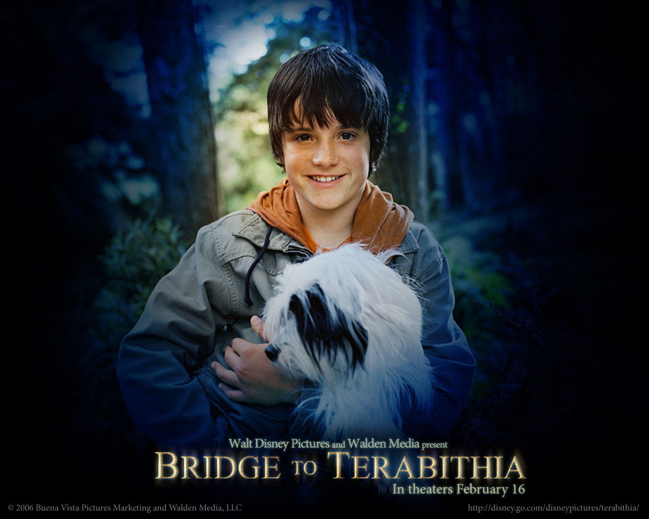 Bridge to terabithia wallpaper wp bridgetoterabithia02 1280 x